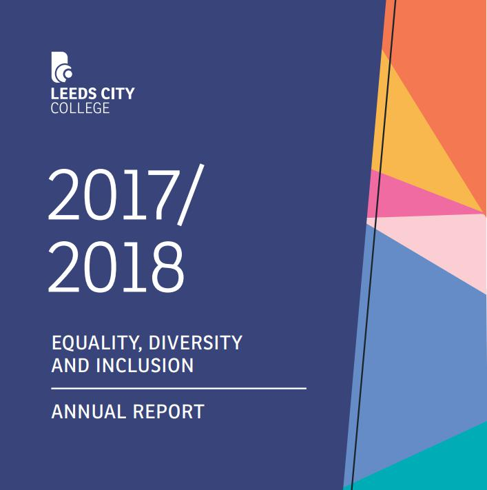 Equality Information Report 2018 cover