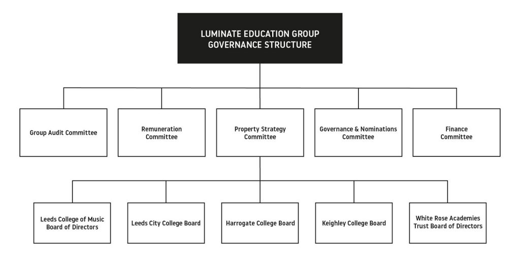 Luminate Education Group Governance Structure