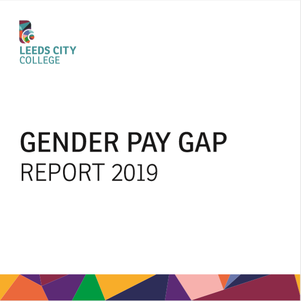 Gender Pay Gap Report 2019 cover