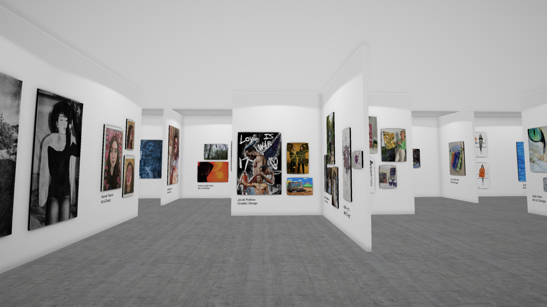 Project You virtual exhibition