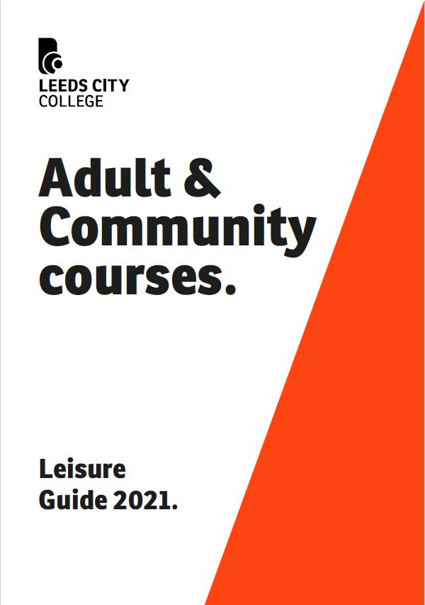LCC Adult Leisure Prospectus cover