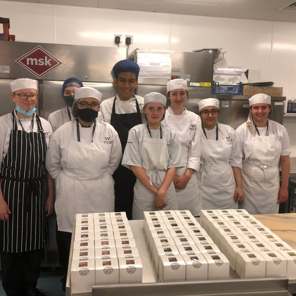 Students bake up a storm for local charity