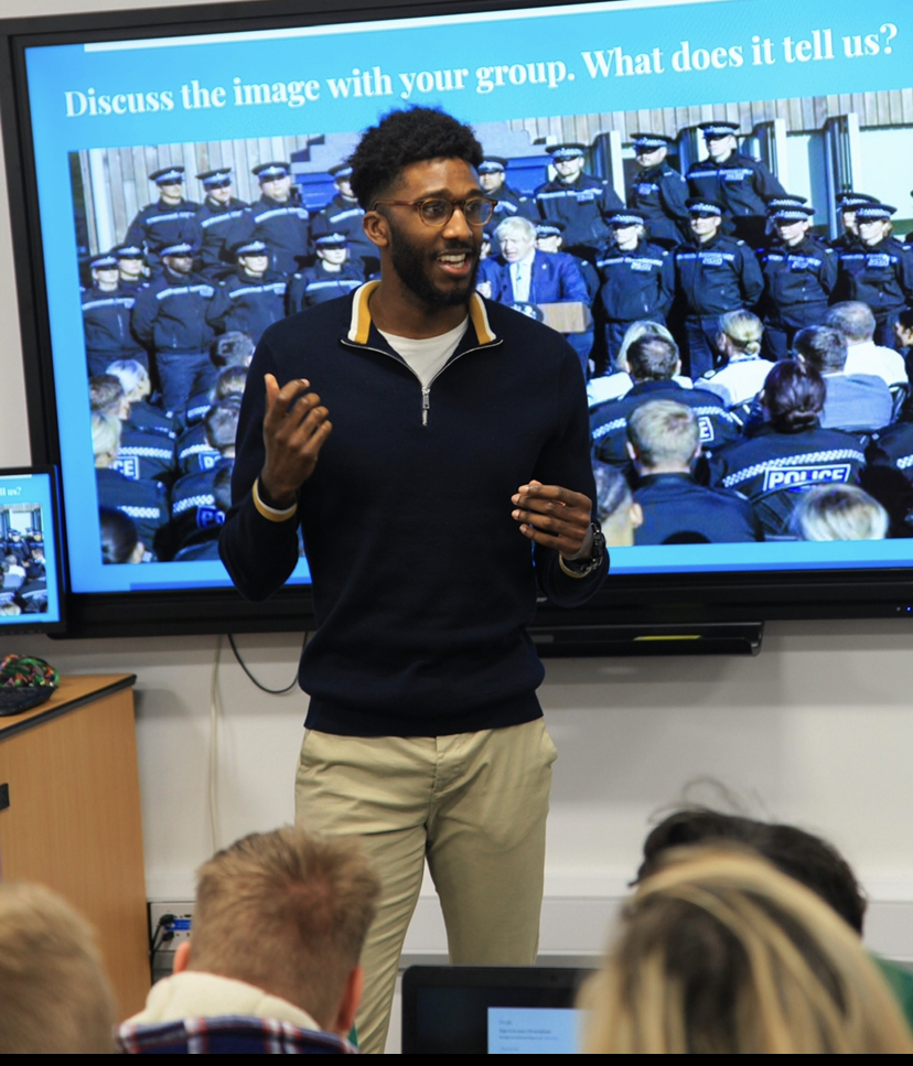 Teaching is my passion, says apprentice Karl